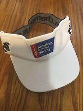 Champion System Cancer Society Running Visor Hat (6575-1)