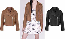 Unbranded Faux Suede Zip Coats & Jackets for Women