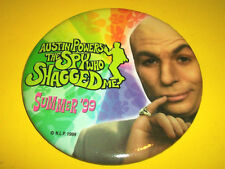 AUSTIN POWERS THE SPY WHO SHAGGED ME DR. EVIL MOVIE FILM  PROMO PIN BACK BUTTON