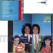 """POOH """"1978-1981"""" RARO CD CGD musicA 1a STAMPA - FUORI CATALOGO"""