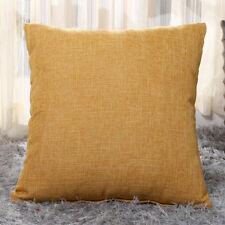 Retro Colorful Throw Waist Pillow Cases Sofa Decor Outdoor Square Cushions Cover