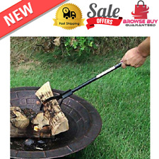 """Log Grabber For Fireplace Firewood Camp Fire Pit Wood Collector Tongs Picker 36"""""""
