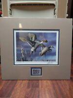 2003 SOUTH DAKOTA MIGRATORY BIRD D/U STAMP AND PRINT, L/E, SIGNED JOSHUA SPIES