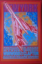 Eric Clapton Steve Winwood New York 2008 Poster: John Van Hamersveld