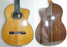 Used Takamine Npt-315 Nat Classical Electric Guitar Cutaway Solid Spruce Top