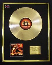 AMON AMARTH SURTUR RISING CD GOLD DISC LP FREE P+P!