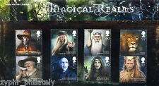 """Great Britain GB - """"HARRY POTTER ~ MAGICAL REALMS"""" Stamp Presentation Pack 2011"""