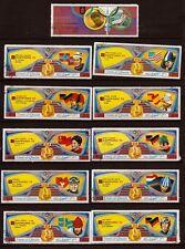 UMM EL KIWAIN  11 timbres  oblitérés serie incomplete  le sport J.O 1972 104T1