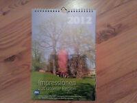Für Sammler - Kalender 2012 - Impressionen aus unserer Region - Landkreis PM