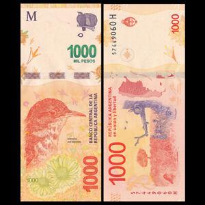 Argentina 1000 Pesos, ND(2016), P-366, Banknote, UNC