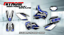 HUSABERG FS 400 450 501 550 650 2001-2005 Graphics Kit Decals Design Stickers MX
