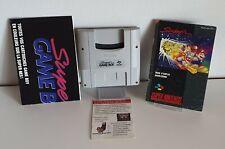 Nintendo Super Gameboy adaptador snsp - 027 SNES Gameboy + instrucciones b630