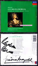 Giacomo ARAGALL CLARK Signed DONIZETTI: LUCREZIA BORGIA Sutherland Horne BONYNGE