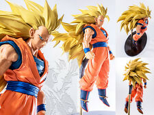 DBZ Dragon Ball Z SCultures Big Super Saiyan 3 Goku SS3 Figure Tenkaichi 6 20cm