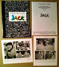 Press Kit~ JACK ~1996 ~Robin Williams ~Diane Lane ~Francis Ford Coppola