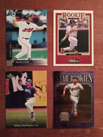 Brian Giles Rookie Card RC Lot (4) 97 Upper Deck Donruss Collector's Choice