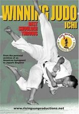 Winning Judo Ichi Best Shoulder Throws Dvd Hal Sharp japanese kodokan