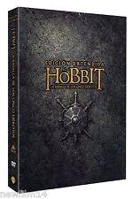 EL HOBBIT LA BATALLA DE LOS CINCO EJERCITOS EXTENDIDA DVD NUEVO ( SIN ABRIR )