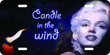 Marilyn Monroe Candle in the Wind new vintage design airbrushed license plate