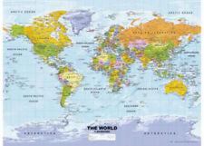 Ravensburger 500 piece Political World Map Jigsaw Puzzle RB14755-7