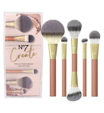 No7 Create, The Ultimate Brush Collection, 5 Brush Set