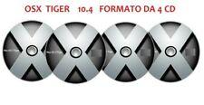 Mac OS X 10.4 Tiger Versione 4-CD