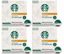Starbucks Blonde Roast K-Cup Coffee 2X Caffeine 64 Count Best Before 11/2020