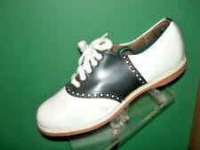 Authentic Black/white Spalding Saddle Shoes 7 1/2B