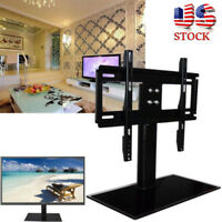 """Universal Table Top TV Stand Base Bracket Mount For Flat-Screen LED LCD 37""""-55"""""""