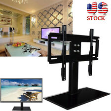 "37""-55"" Universal Table Top TV Stand Base Bracket Mount For Flat-Screen LED LCD"