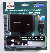 Sega Dreamcast Controller for PC to Mac USB adapter DC controller Mayflash 2Port