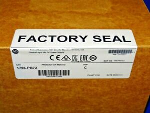 2020 FACTORY SEALED Allen Bradley 1756-PB72 Series C Power Supply