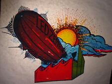 Led Zeppelin 1970's Vintage Americana Rock & Roll Iron On Transfer B-5