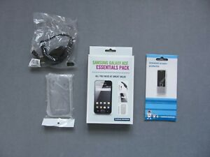 Samsung Galaxy Ace Essentials Pack; Charger, protector & case from Carphone Ware