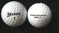 """20 SRIXON  """"MARATHON SOFT"""" - Golf Balls - """"PEARL/A"""" Grades."""