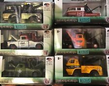 1/64 M2 Machines Tow Truck set of 6 USA