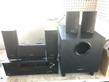 ONKYO HOME THEATER AV HDMI Receiver HT-R390 SUB,5 SPEAKERS, 2 Remotes