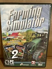 Farming Simulator 2009 PC 2 Bonus Games (Farmer Crates & Wacky Farm) Free shippi