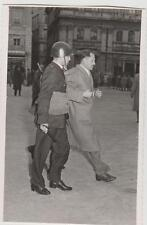 Scontri Trieste tra manifestanti e polizia inglese1953 vera fotografia 8,5X13