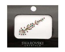 Bindi  long bijou de peau mariage front strass cristal rouge rubis-  FS13B 2747