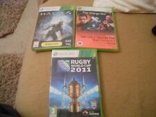 Xbox 360 games bundle - Halo 4 Rugby Half life VGC