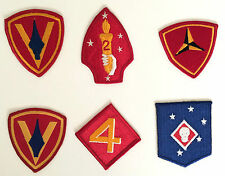 Marine Patches Marine Raiders 2nd 3rd 4th 5th Division Patch