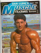 Muscle Training Illustrated Bodybuilding Fitness Magazine/Pat Lanzillo 3-86