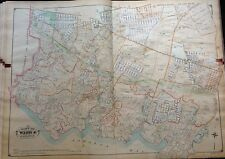 1907 HOWARD BEACH SOUTH OZONE PARK RICHMOND HILL QUEENS NY ATLAS MAP