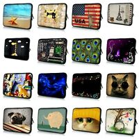 """Soft Sleeve Case Bag Cover Pouch For 7"""" 8"""" 10"""" 12"""" 13"""" 14"""" 15"""" 17"""" Laptop Tablet"""