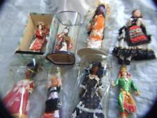 Vintage 10 pcs. International Dolls Japan, New Caledonia,Kewpie w original box