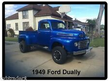 1949 Ford Dually Truck Refrigerator Magnet