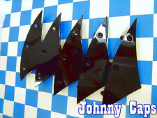 Hipnotic C-Note Wheels Black Insert #876F577 Custom Wheel Cap Inserts (5)