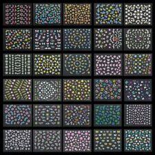 30 листов для дизайна ногтей 3D наклейки цветы дизайн маникюр пальцы украшения