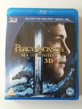 Percy Jackson - Sea of Monsters 3D Blu-Ray (2013) UK FREE POSTAGE
